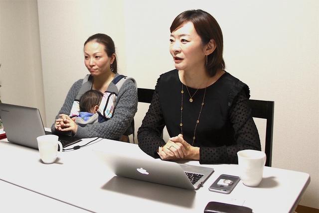 株式会社タスカジ 代表取締役 和田幸子さん(右)、PR...
