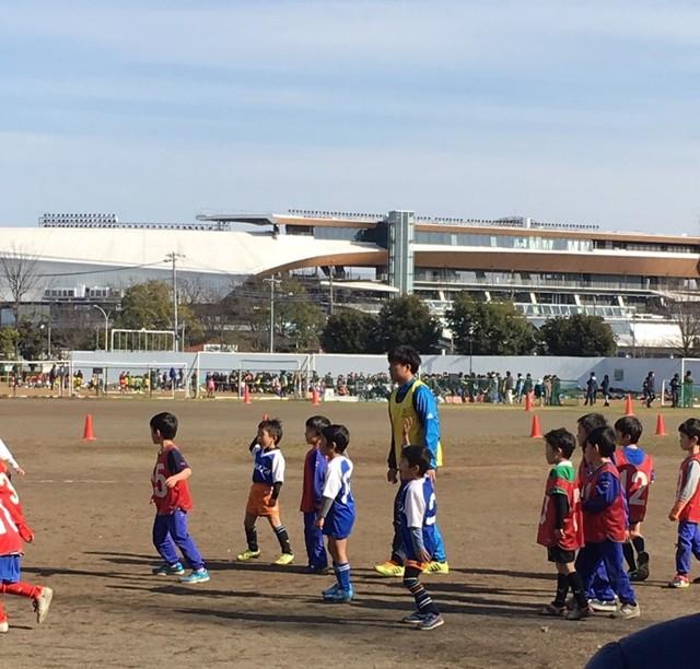 次男のサッカー試合