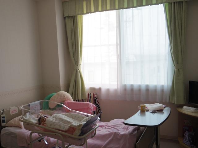 入院中の病室